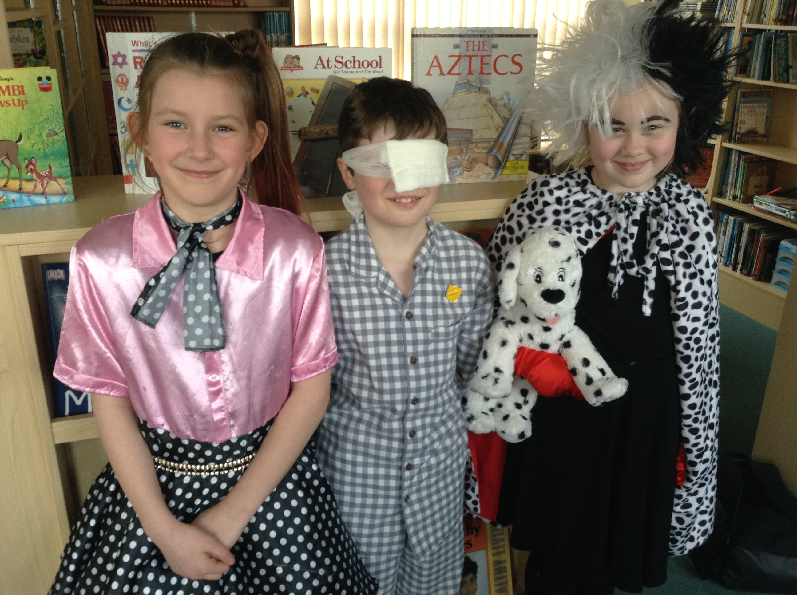 Our fancy dress competition winners!